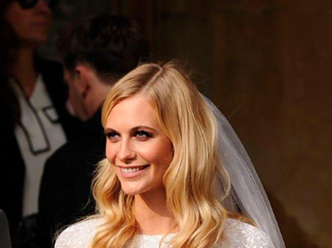 Peinado de novia con pelo suelto