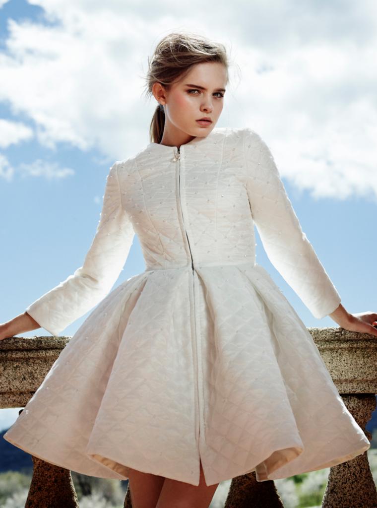 Vestidos de novia cortos 2017