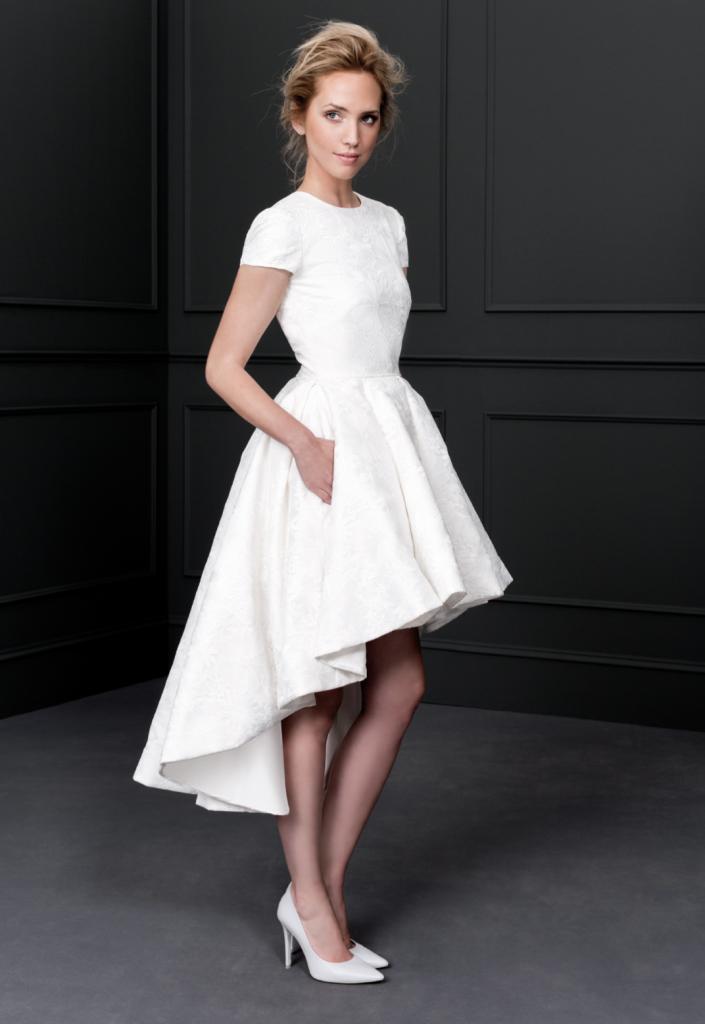 los mejores vestidos de novia cortos 2017 –