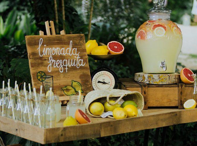 Rincón limonada para tu boda