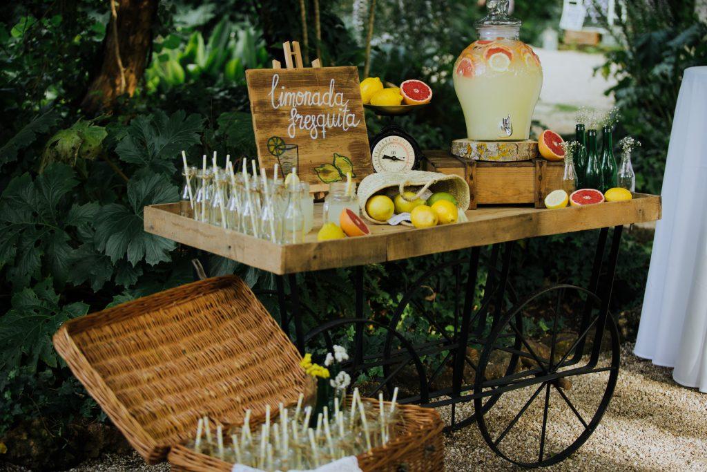 Limonada para tu boda
