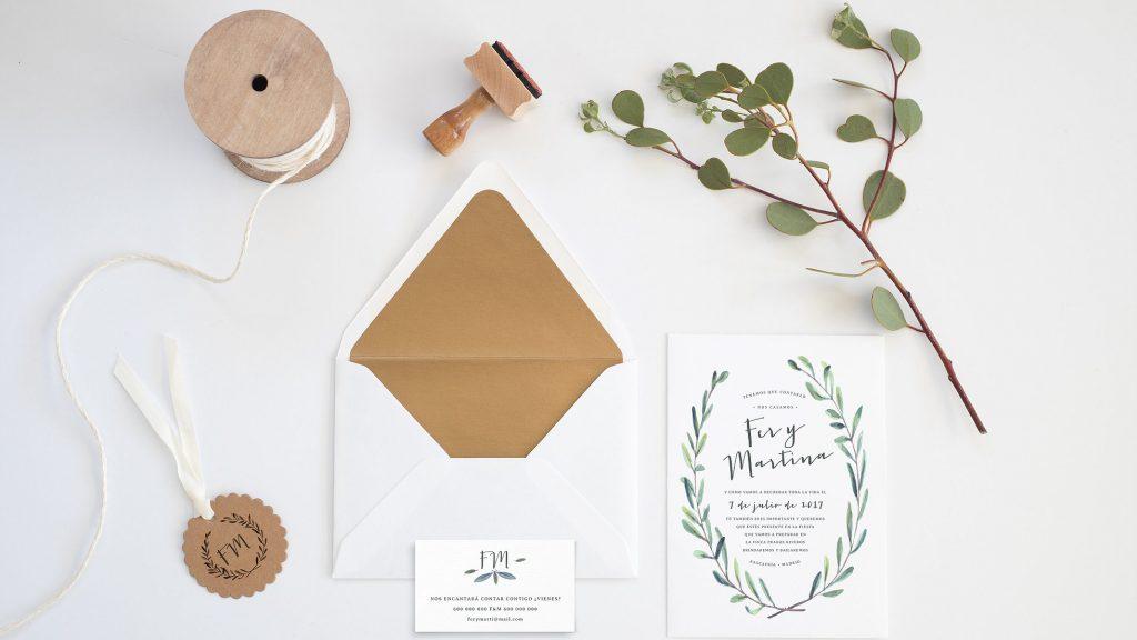 Ideas de invitaciones para boda