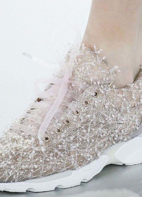 Zapatillas de deporte para novias