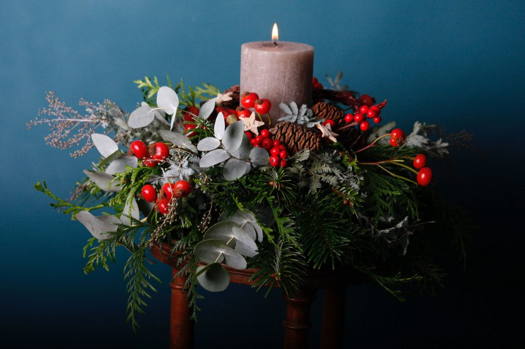 Decoración bodas navidad