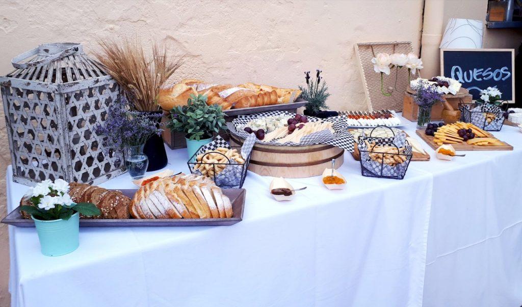 incon de quesos para bodas